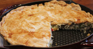Baked Omelet Pie Recipe in Urdu