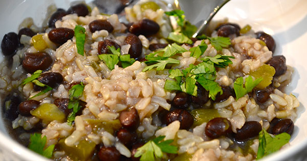 Black beans and rice 1