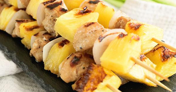 Pineapple chicken tenders