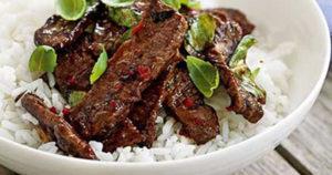 Thai Beef Recipe in Urdu