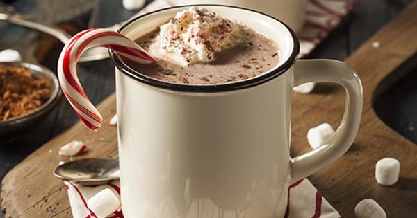 candy cane cocoa 1