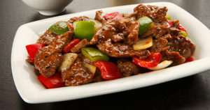 Chinese Pepper Steak Recipe in Urdu