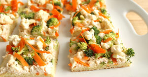 Vegetable Pizza Recipe in Urdu