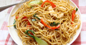 Chinese Noodle Chicken Recipe in Urdu