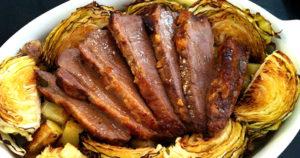 Corned Mutton and Cabbage Recipe in Urdu