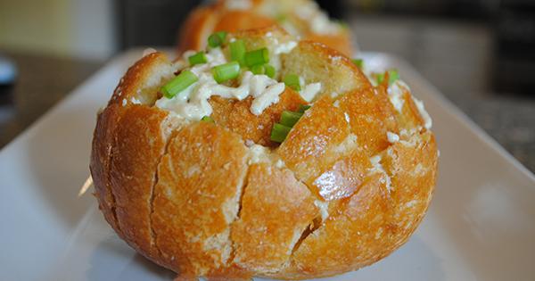 Mediterranean Stuffed Cheese Buns