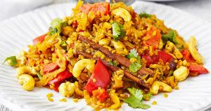 Spicy Thai Rice Recipe in Urdu