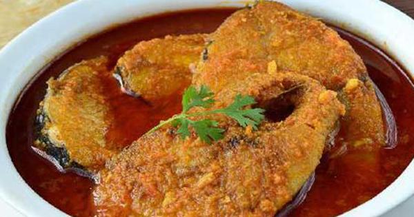 Tamarind Sauce Fish Curry 1