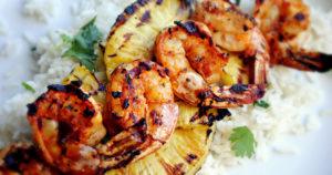 Thai Spiced Barbecue Shrimp Recipe in Urdu