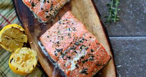 Firecracker Grilled Alaska Salmon Recipe in Urdu