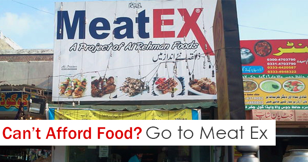 Meat Ex is offering free food in lahore