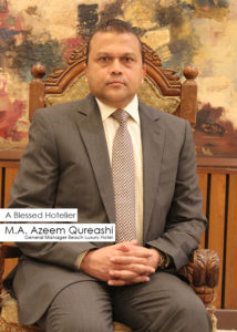 M.A Azeem Qureashi - GM Beach Luxury Karachi