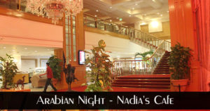 Arabian Night at Nadia's Cafe Marriott Hotel Karachi