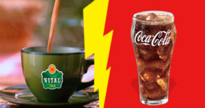 Coke Vs Vital Tea; another brand adding cherry on top of The Brand Wars
