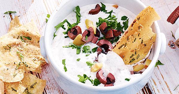 Creamy Olive Dip