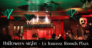 Halloween Night - La Terrasse Ramada Plaza