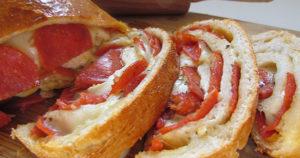 Pepperoni Bread Recipe in Urdu