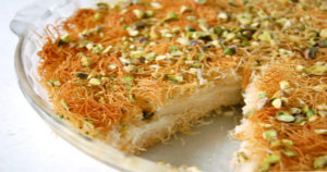 KUNAFEH Recipe in Urdu