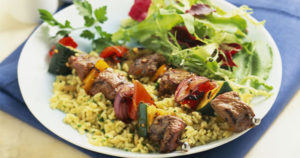 Shish Taouk - Chicken Kebabs Recipe in Urdu