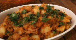 Bohra masala potatoes Recipe in Urdu