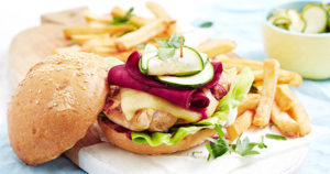 Portuguese Chicken Burger Recipe in Urdu