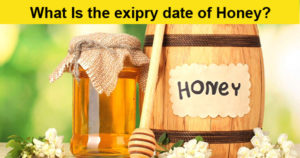 What is the expiry date of Honey and its nutrition?