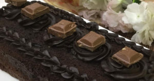 Chocolate Cake Slice Recipe in Urdu