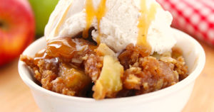 Apple Crisp Recipe in Urdu
