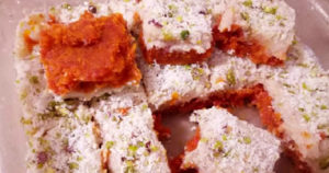 Gajar Barfi Recipe in Urdu