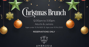 AMBROSIA – A Divine Dining For Christmas