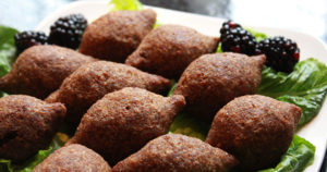 Kibbeh with Eggplant Stuffing Recipe in Urdu