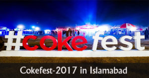 Cokefest was back to feed your senses in Islamabad