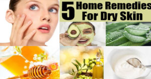 5 Natural, Homemade Remedies For Dry Skin