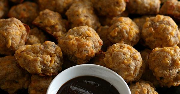 Maple Sausage Balls