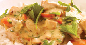 Chicken Fricassee with Garlic Rice Recipe in Urdu
