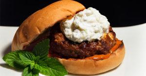 Lamb Burger with mint Recipe in Urdu