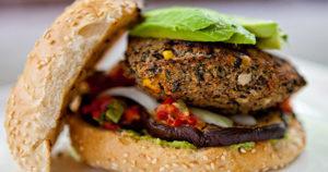 Black Bean Burger Recipe in Urdu