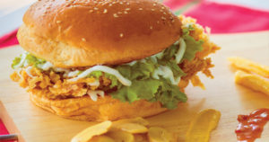 Special Crispy Chicken Burger Recipe in Urdu