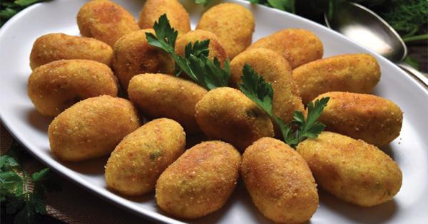 potato croqutes