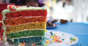 Rainbow Cake Recipe in Urdu