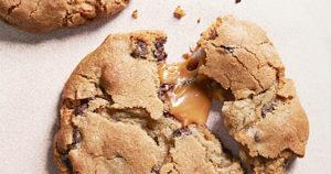 Caramel Filled Chocolate Cookies Recipe in Urdu