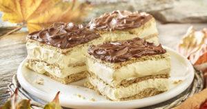 Eclair Cake Recipe in Urdu