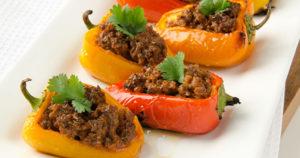 Chorizo-Stuffed Peppers