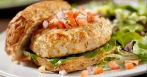 Spinach and Feta Turkey Burgers Recipe in Urdu