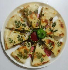 CHICKEN PIZZA PIE PUNJABI STYLE Recipe in Urdu