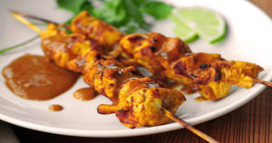 Chicken Satay Recipe in Urdu