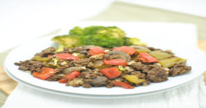 Beef Pepper Mushroom Recipe in Urdu