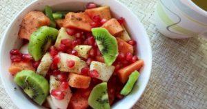 Delicious Juicy Fruit Chaat Recipe in Urdu