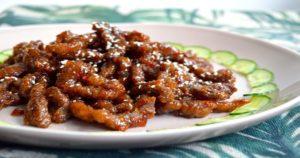 Chilli Milli Beef Recipe in Urdu