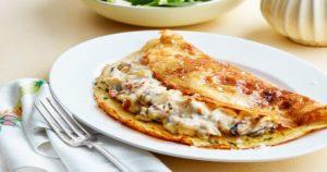 Seafood Omelete Recipe in Urdu